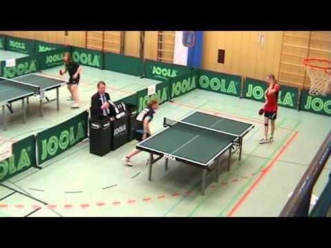 Janina Kämmerer - Katharina Binder  // Livestream Deutsche Jugendmeisterschaft Tischtennis 2013