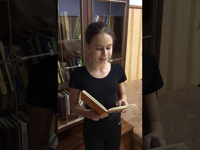 Кужелева Виолетта читает произведение «Первый снег» (Бунин Иван Алексеевич)