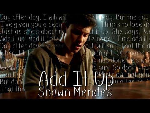 Add It Up - Shawn Mendes (Music Video + Lyrics)