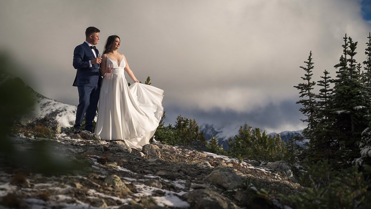 Autumn Blackcomb Mountain Elopelement | Adrienne & Simon | Teaser