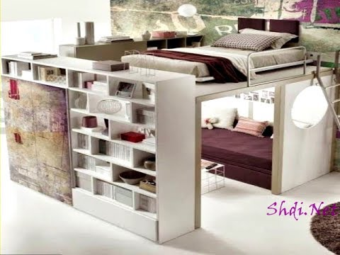 200 space saving design ideas for small home youtube for Home space saving ideas