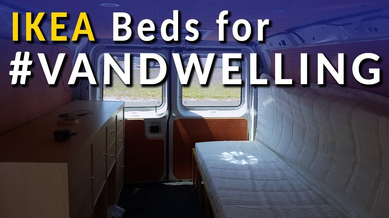 IKEA Custom Bed for #Vandwelling