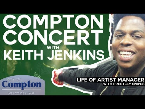 Life of Artist Manager: Compton Concert with Keith Jenkins