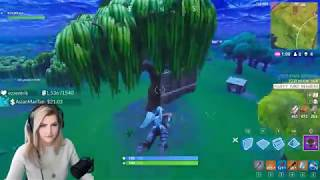 FORTNITE FUNNY MOMENTS! KittyPlays Twitch Clip Compilation #6