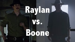 Justified - Raylan vs. Boon