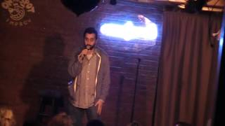 Faisal Butt at the Comedyworks some time ago