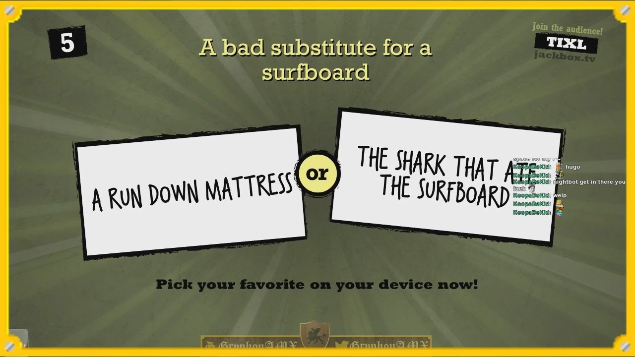 Download Quiplash Rounds 50-53 :: Jackbox Games