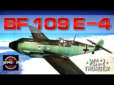 War Thunder Realistic: Bf 109 E-4 [The Beast Inside!]