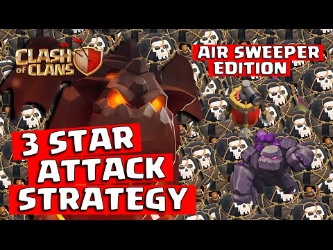 Clash Of Clans 3 STAR WARS TH10 INDO DIVINITY (Air Sweeper Edition)