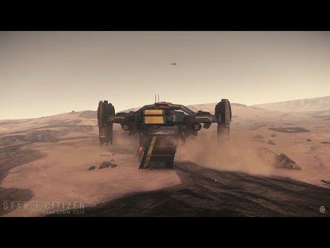 FIRST Idris Capital Ship Gameplay - Star Citizen @Gamescom