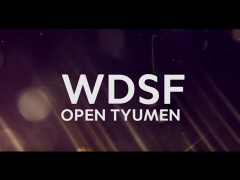 WDSF Open Tyumen Latin & Standard 2017 / Live / Day 2