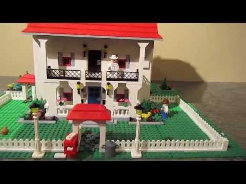 southern lego house 3 story youtube. Black Bedroom Furniture Sets. Home Design Ideas