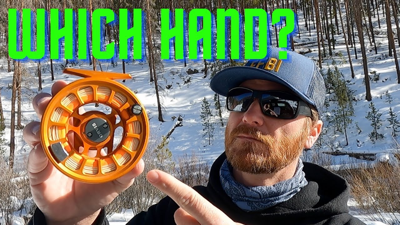 WHICH HAND should you REEL with? (fly fishing)