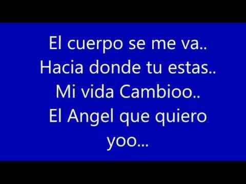 Angel Con Letra
