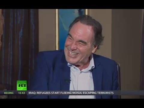 Oliver Stone on freedom of speech, Hillary's hacks and CIA cinema (Going Underground)