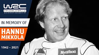 In memory of Hannu Mikkola - WRC Legend