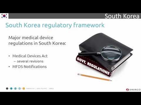 South Korea Medical Device Registration Chapter 1 - Overview