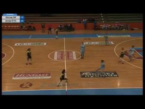 Göcsej SK Sport 36 - Árkád ETO NB I női futsalmérkőzés 2fel 17.01.25 (szerda) 19:00