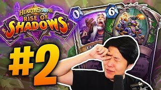new rise of shadows card reactions 2 oblivitron lazuls scheme hearthstone