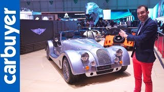 335bhp Morgan Plus Six showcased at Geneva Motor Show