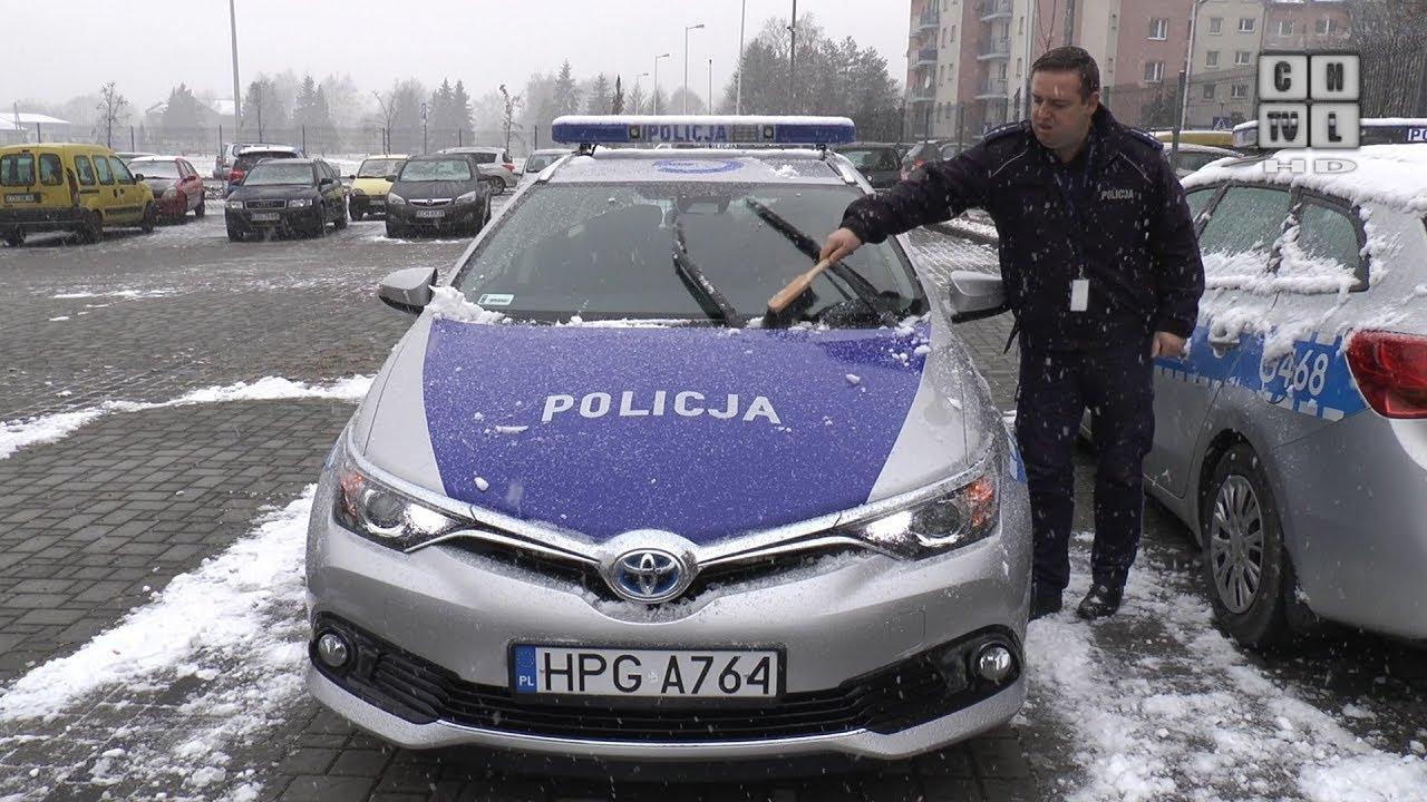 Pierwszy hybrydowy radiowóz jeździ po chrzanowskich ulicach