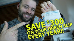 SAVE $300 On Your Green Slip Renewal Every Year