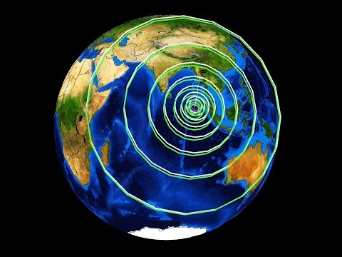 12/08/2015 -- Earthquake Forecast -- Unrest caused by Earth's expanding PLASMA core