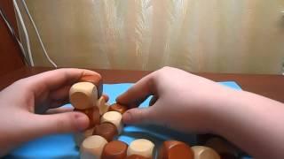 Как собрать куб-змейку? How to solve snake cube?