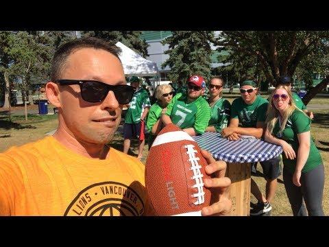 I flew to Saskatchewan for a football game! 🏈🇨🇦
