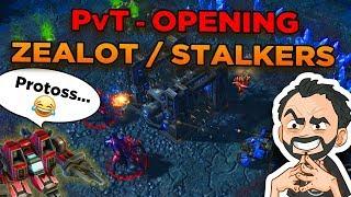 StarCraft 2 - PvT - Fast WIN versus Terran! Zealot / Stalkers Opening!