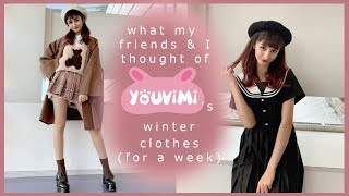 Wearing Korean & Japanese Winter Fashion For A Week    YouVimi Review
