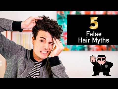 5 Common Hair Myths That Are NOT TRUE | 2017