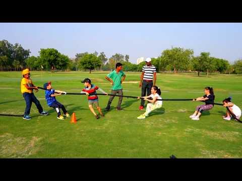 HGC Juniors Summer Golf Camp: Tug of War 17'