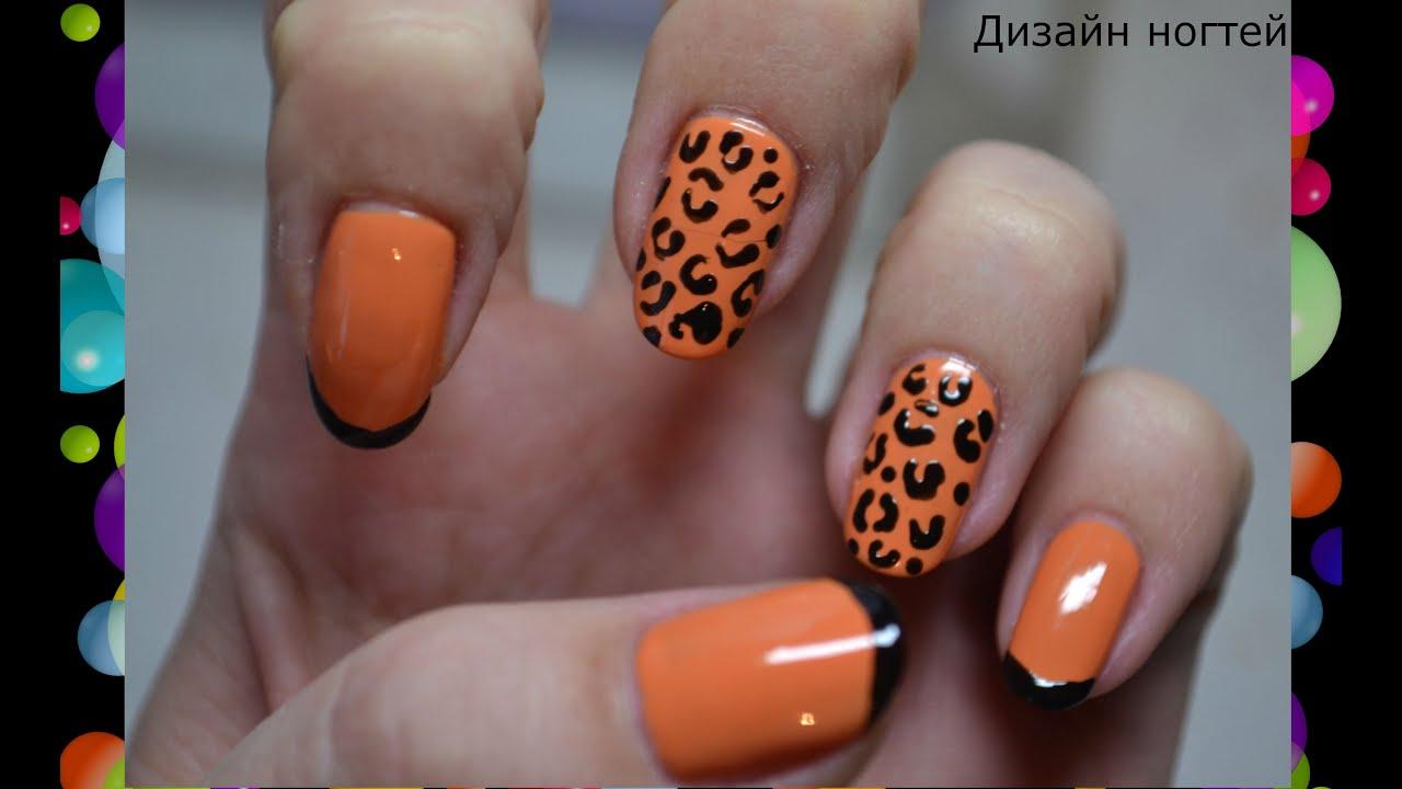 Фото ногтей дизайн леопард фото