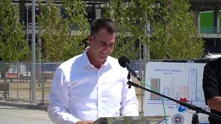 OKC Boulevard ceremony