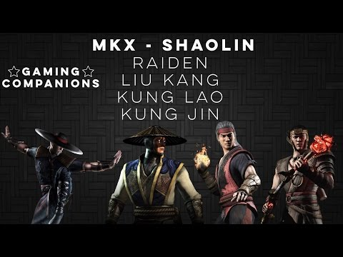MKX - SHAOLIN - ALL VARIATIONS ONLINE MATCHES