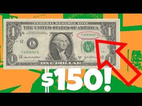 Dollar Bill Worth $150!  | How To Find Sequential Number Bills!!