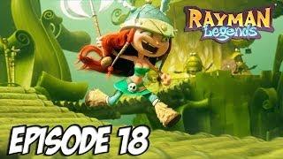 Rayman legends - A la recherche de la pétasse | Episode 18 Thumbnail