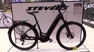 2018 Stevens e-Triton Luxe Electric City Bike - Walkaround - 2017 Eurobike