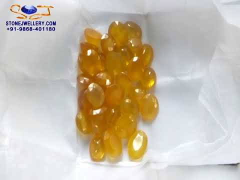 Wholesale Bangkok Yellow Sapphire - Pukhraj Stone | StoneJwellery | +91-9868-401180
