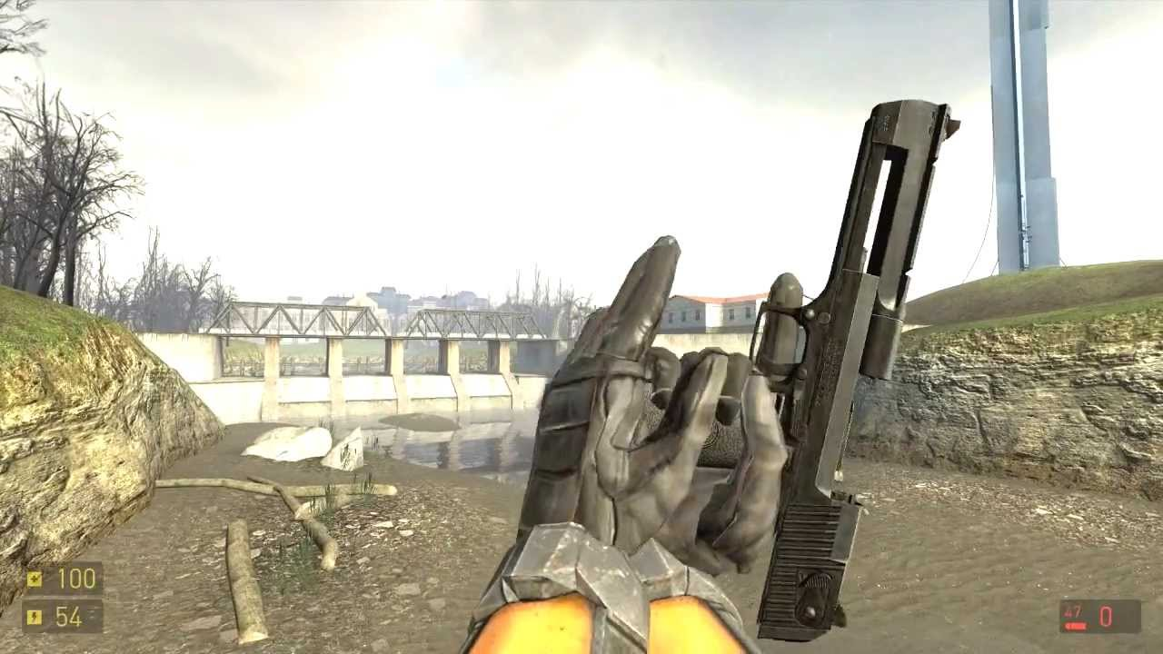 Half life 2 episode 2 weapon mods