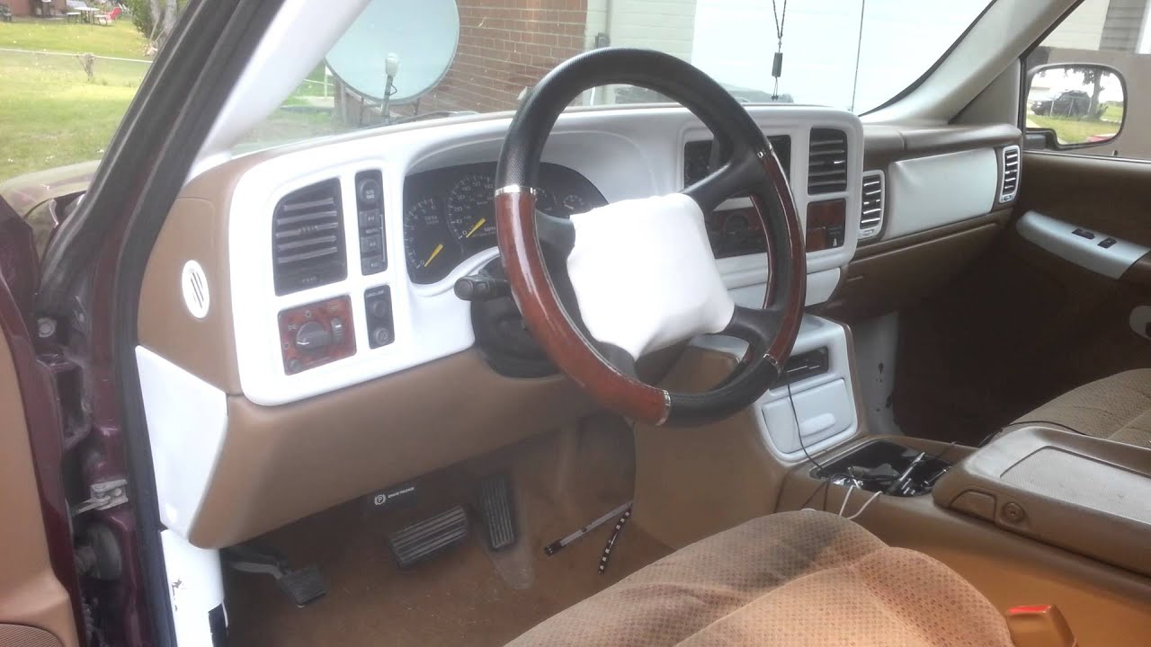 Chevy Silverado custom interior  YouTube