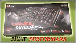 trust gaming keyboard gxt 830 kutu ailimi