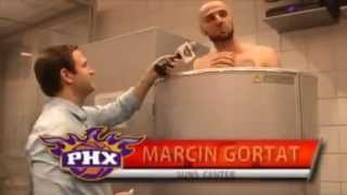 Cryotherapy  Marcin Gortat from Phoenix Suns