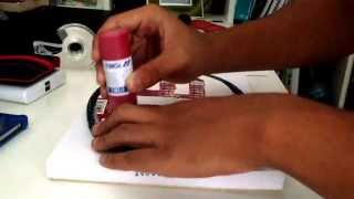 how to stencil badminton racket