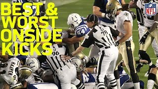 Best and Worst Onside Kicks since 2008 | NFL Highlights