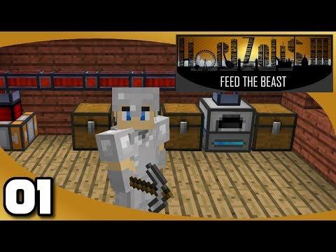 FTB Horizons 3 - Ep. 1: New Horizons to Pursue   Minecraft 1.12.2 Modded Survival