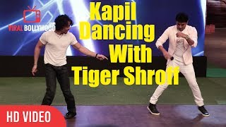 Kapil Sharma Dancing With Tiger Shroff | Munna Michael Team At The Kapil Sharma Show