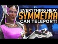 Overwatch: Everything NEW Symmetra Can Teleport!