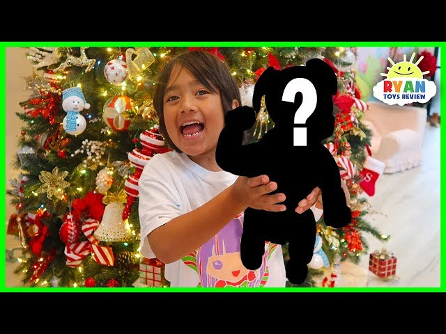 Surprise Ryan with A Puppy for Christmas!!!